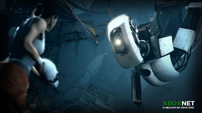 Portal 2 é um dos jogos que mais se destacaram na história do xbox 360