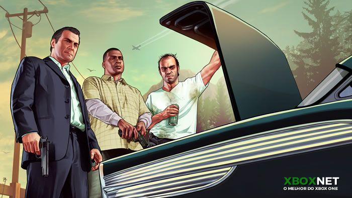 Imagem do game Grand Theft Auto V um dos melhores jogos de vários consoles inclusive do 360