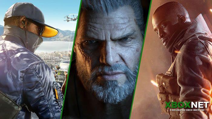 melhores jogos e3 2016 | xbox one