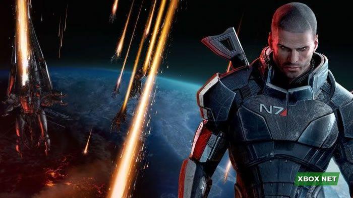 Imagem do jogo Mass Effect Trilogy um dos melhores games do xbox 360
