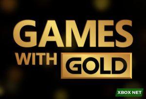 Capa da categoria Games With Gold, a imagem exibi o logo do serviço oferecido pela Microsoft ao assinantes da Xbox Live Gold